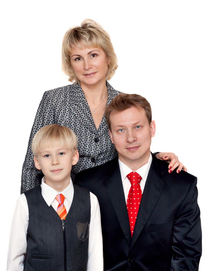 Portrait To Families Stock Photography
