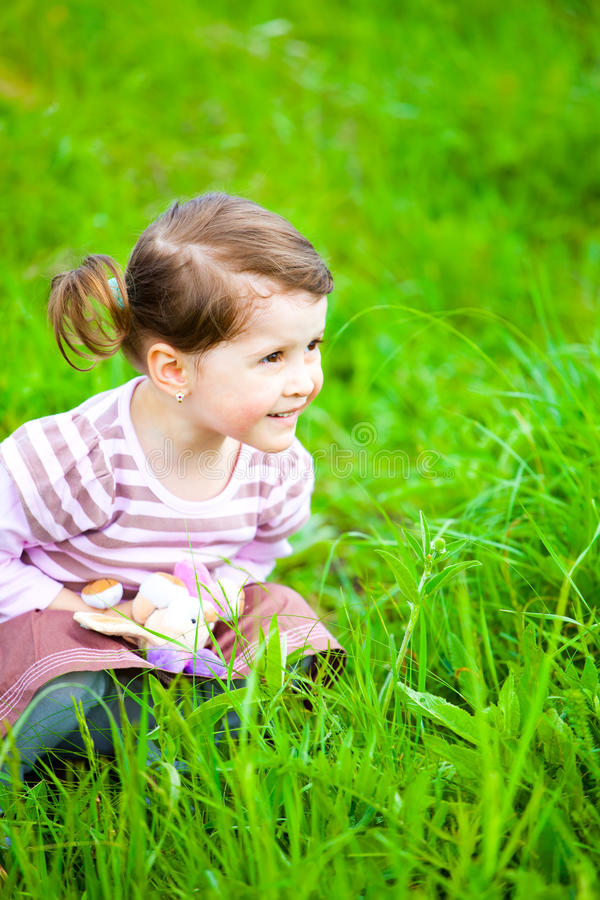 Portrait of a toddler royalty free stock images
