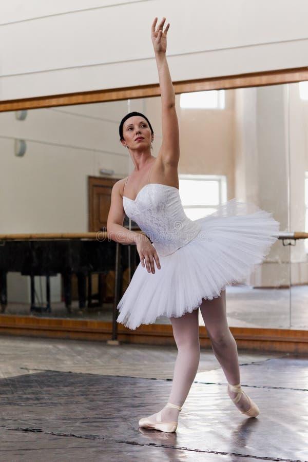 Portrait training ballerina