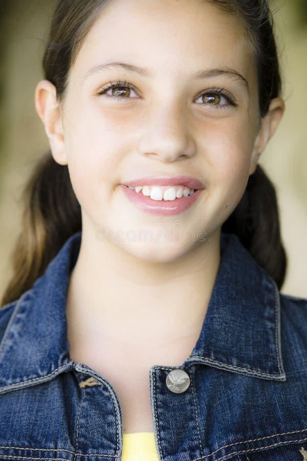 Download Portrait Of Tween Girl stock photo. Image of confidence - 10978964