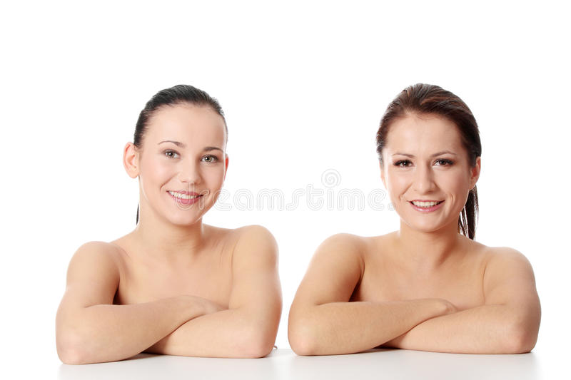Download Portrait Of A Two Beautiful And Young Women Stock Image - Image: 16514075