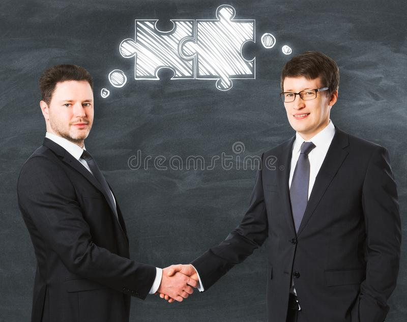 Teamwork and friendship concept stock photo