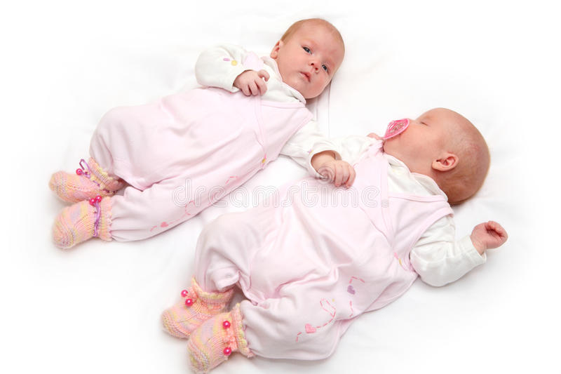 Download Portrait Of Two Twin Sister Stock Photography - Image: 11935582