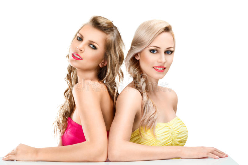 Two Young Women Royalty Free Stock Image