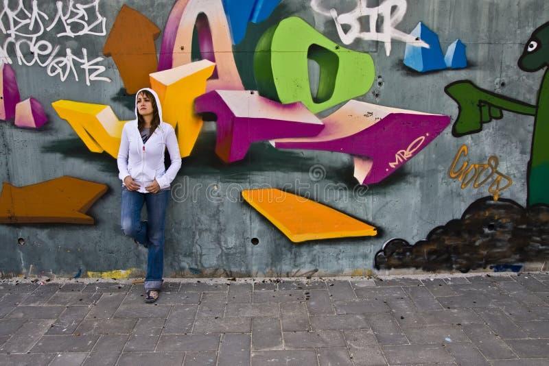 portrait urban στοκ φωτογραφία
