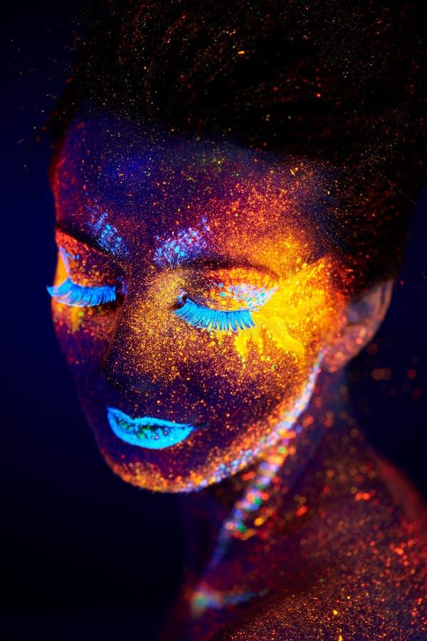 Portrait UV photos stock