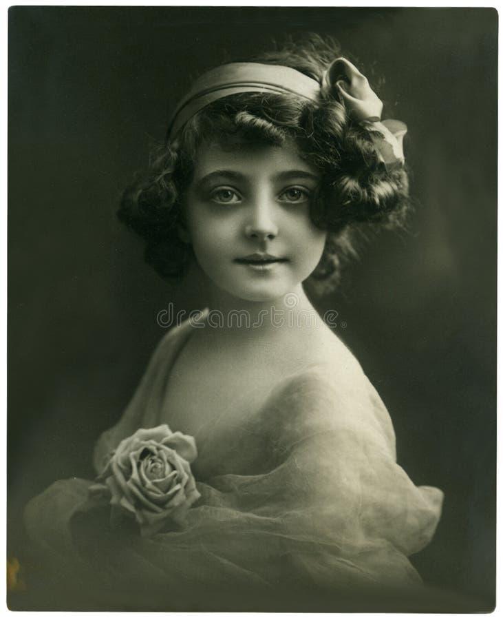 portrait vintage στοκ φωτογραφίες