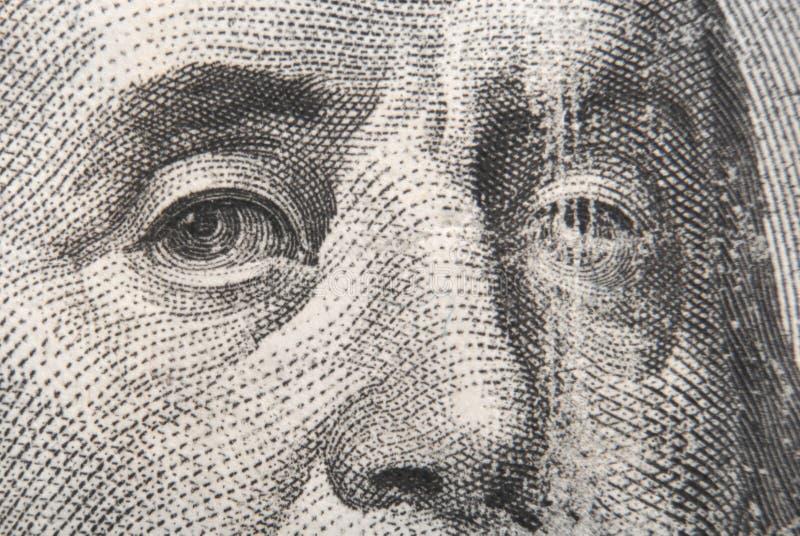 Portrait von Benjamin Franklin vektor abbildung
