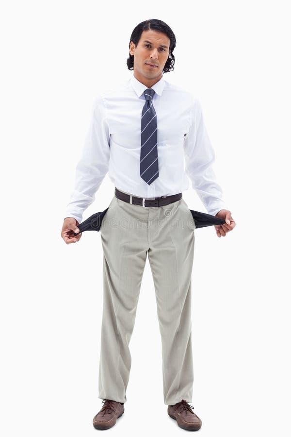 Portrait von a brach businessmam lizenzfreies stockbild