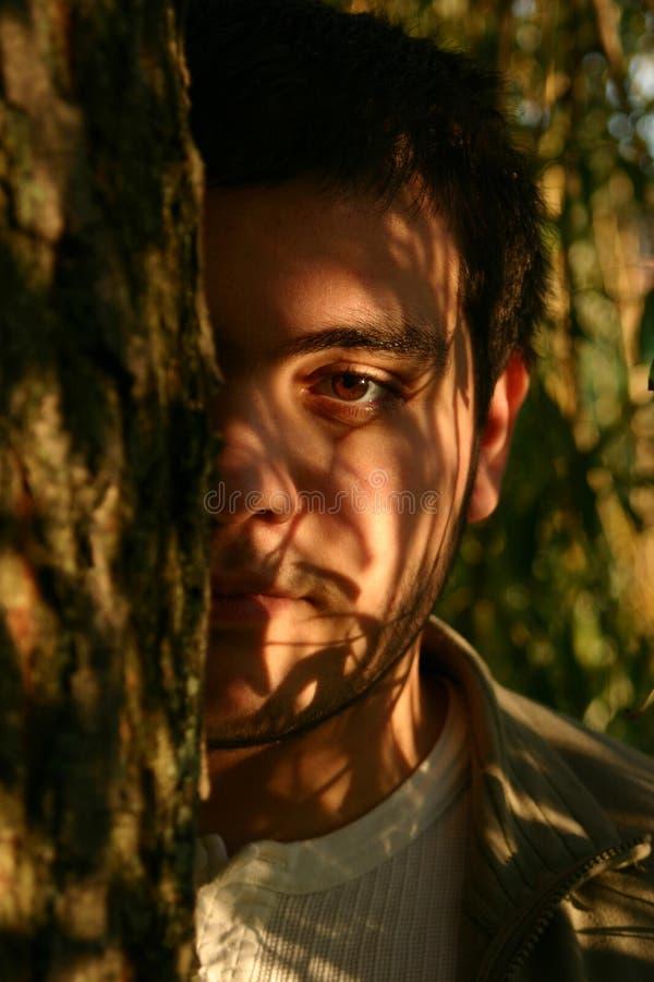 Portrait von junge Männer stockfotografie