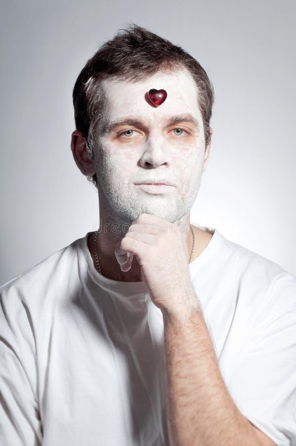 Portrait von Valentin stockfoto