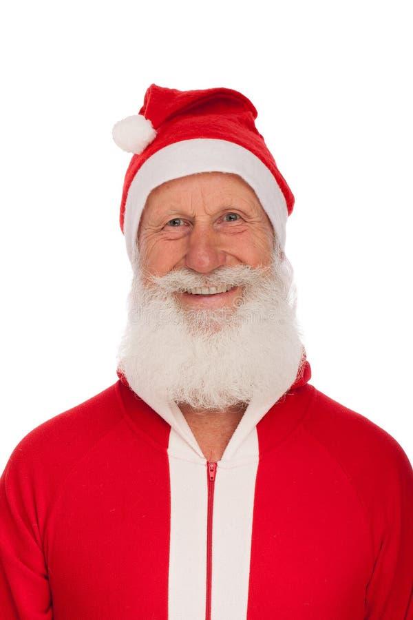 Portrait von Weihnachtsmann stockfoto