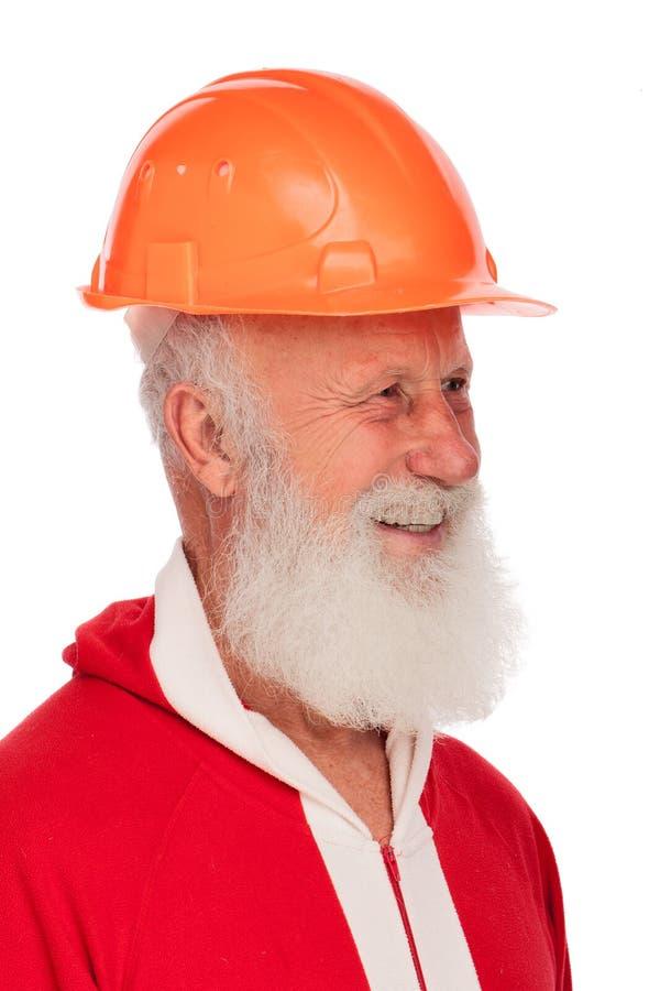 Portrait von Weihnachtsmann lizenzfreie stockbilder
