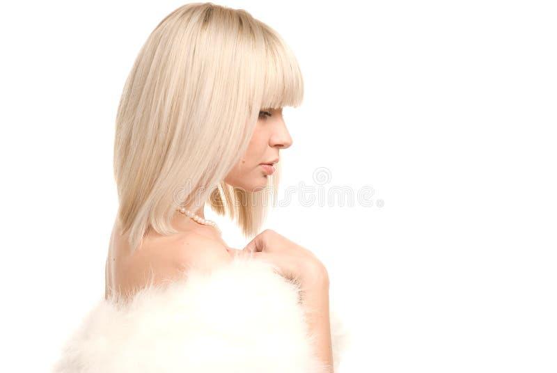 portrait white στοκ εικόνα με δικαίωμα ελεύθερης χρήσης
