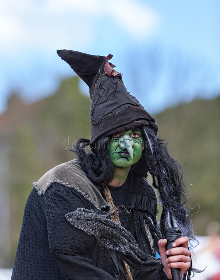 Portrait of a Wizard stock images