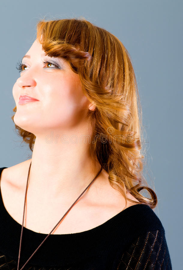 Download Portrait Of The  Woman Royalty Free Stock Images - Image: 12675809