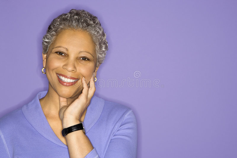 Portrait of woman. royalty free stock photos