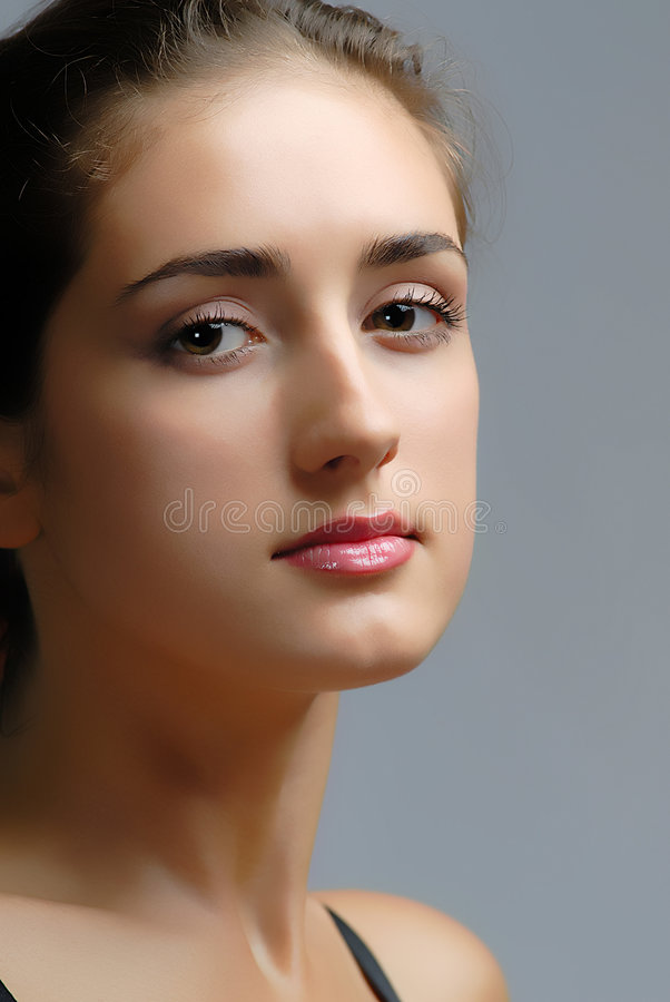 Portrait of woman stock images