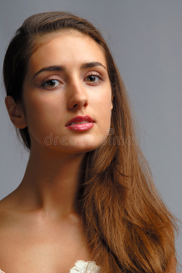 Portrait woman royalty free stock photo