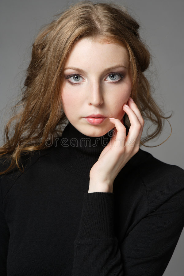 Download Portrait of a woman stock photo. Image of girls, cosmetics - 3527506