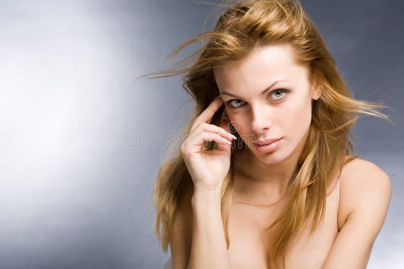 Download Portrait woman stock image. Image of dress, girl, joyful - 8541579