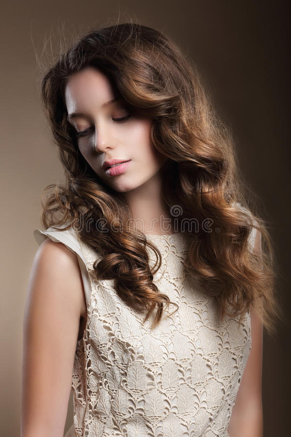 Portrait of a woman. royalty free stock photos