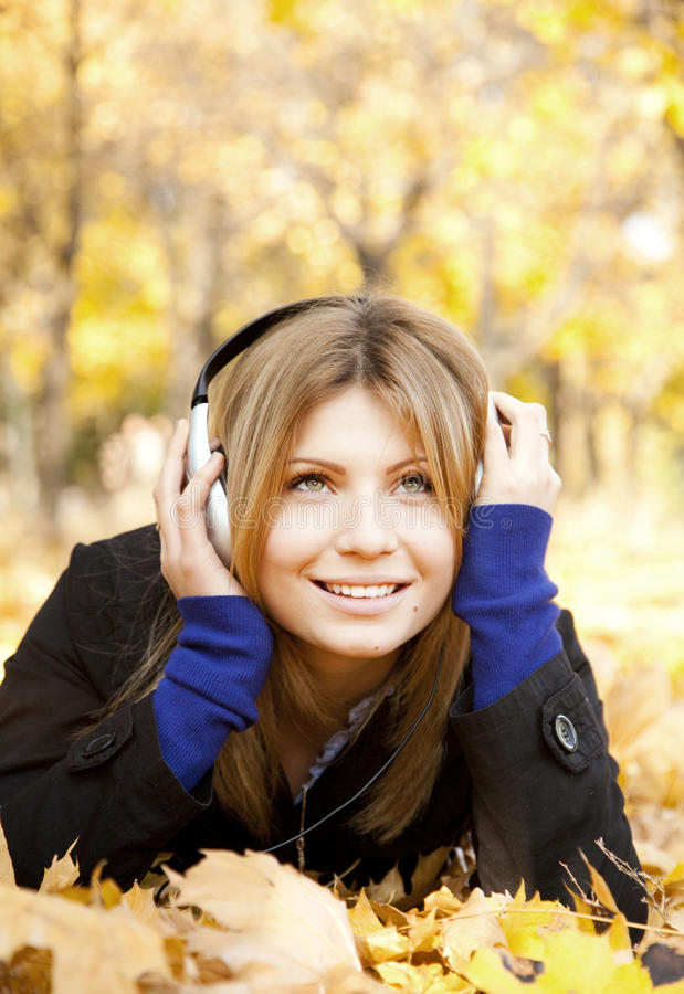Download Portrait Of A Woman At Outdoor Stock Image - Image: 21953235