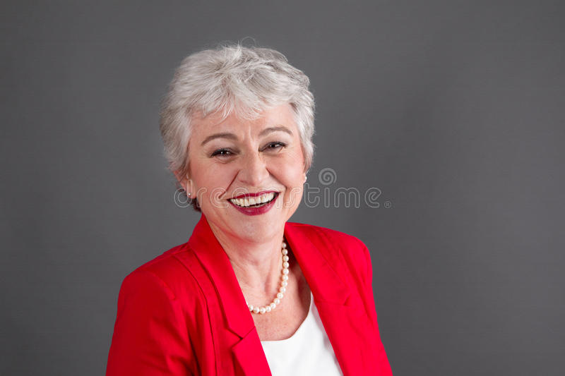 Portrait of woman in the prime of life. Woman in the prime of life stock photography