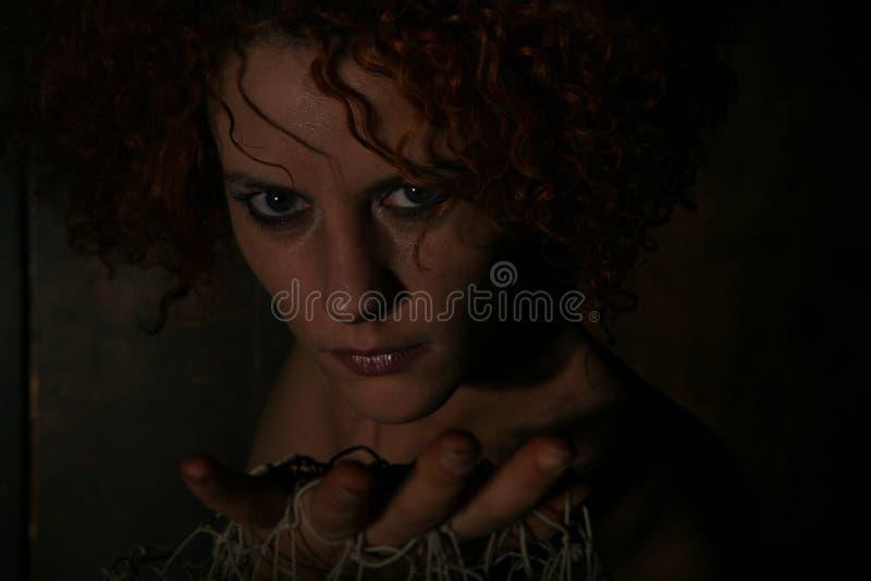 Portrait Of Woman In Shadows Free Public Domain Cc0 Image