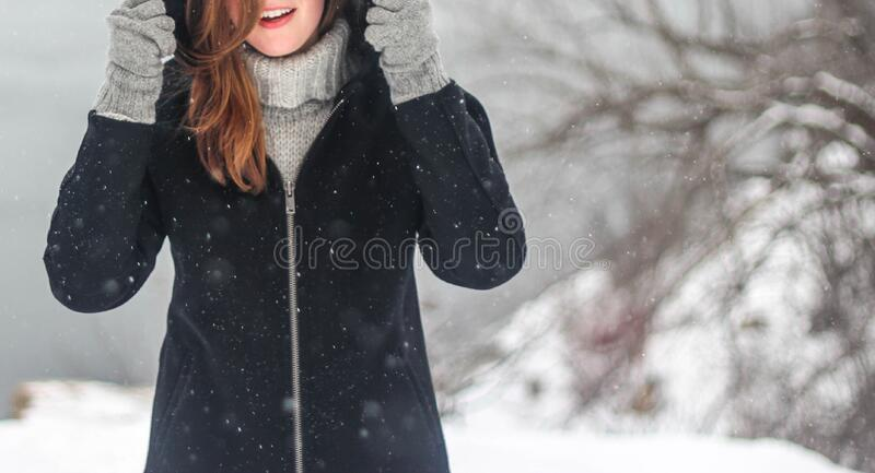 Portrait Of Woman In Winter Free Public Domain Cc0 Image