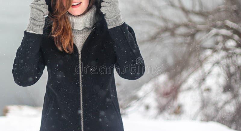Portrait Of Woman In Winter Free Public Domain Cc0 Image