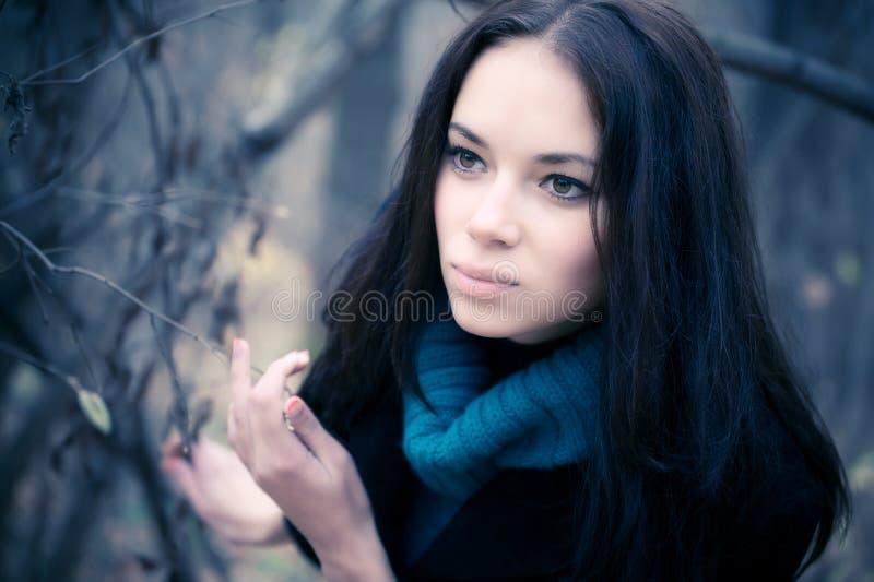portrait woman young στοκ εικόνα