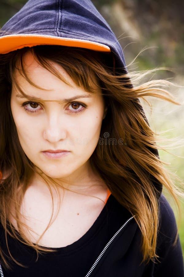 portrait woman young στοκ εικόνες με δικαίωμα ελεύθερης χρήσης