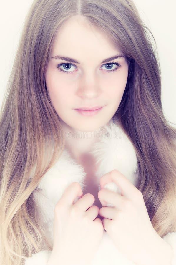 Portrait woman stock photo
