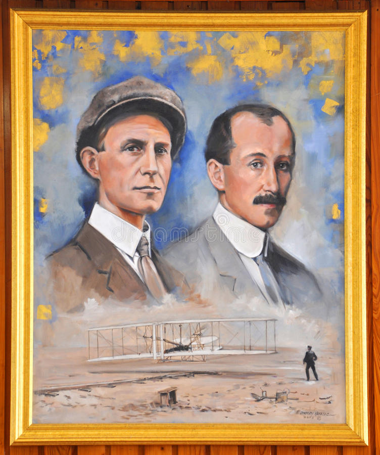 Download Portrait Of Wright Brothers Editorial Stock Photo - Image: 27811088