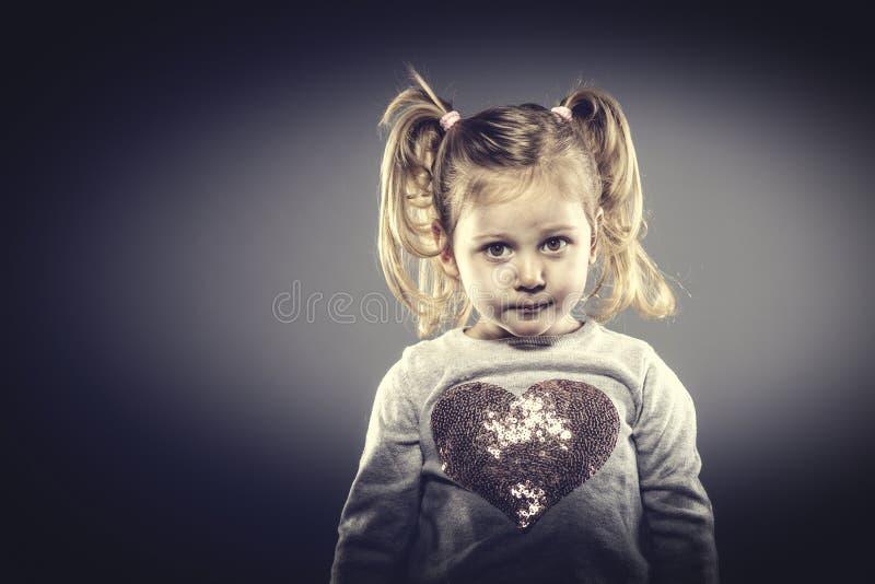 Female child portrait royalty free stock photos