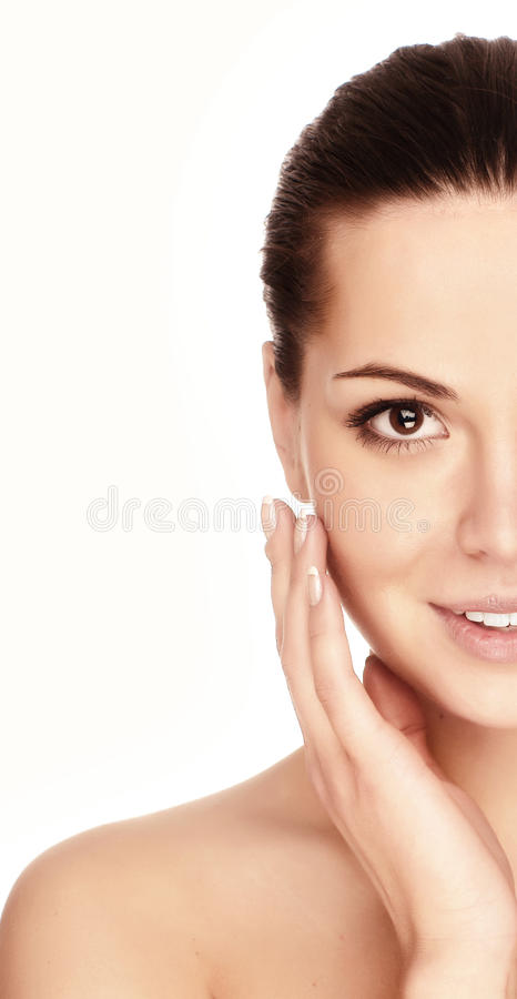 Download Portrait Of Young Adult Woman Stock Image - Image: 9526631