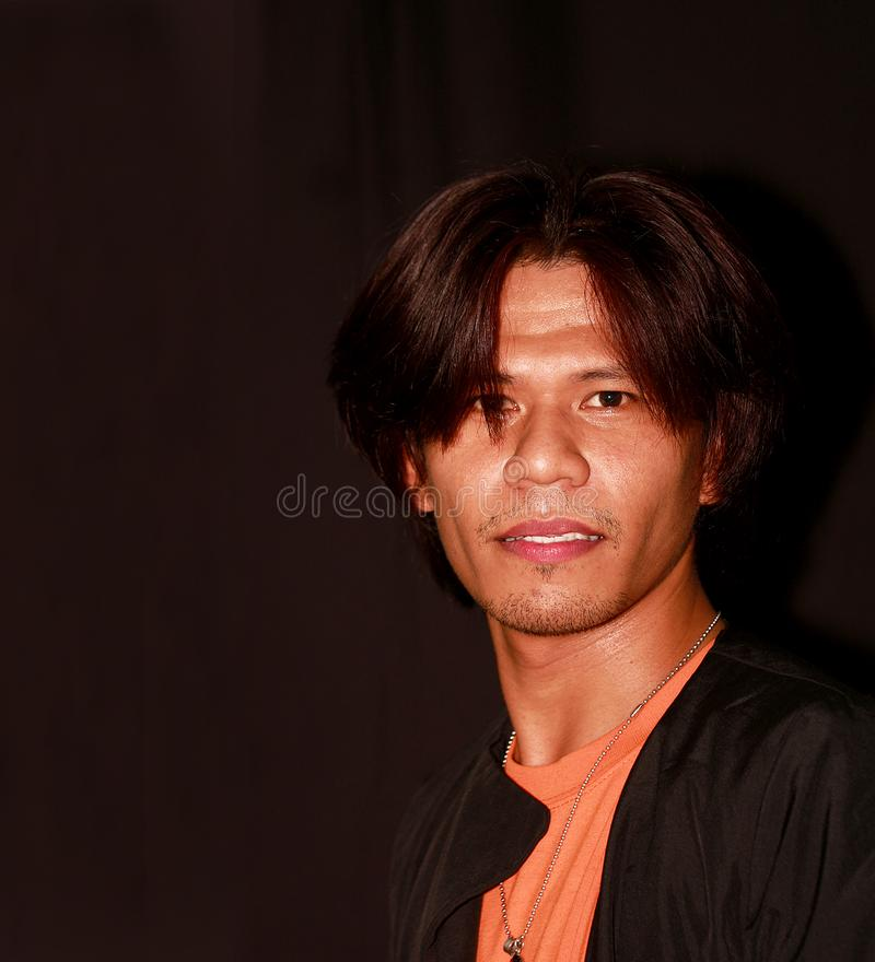 Portrait of a young asian man- handsome stock photo