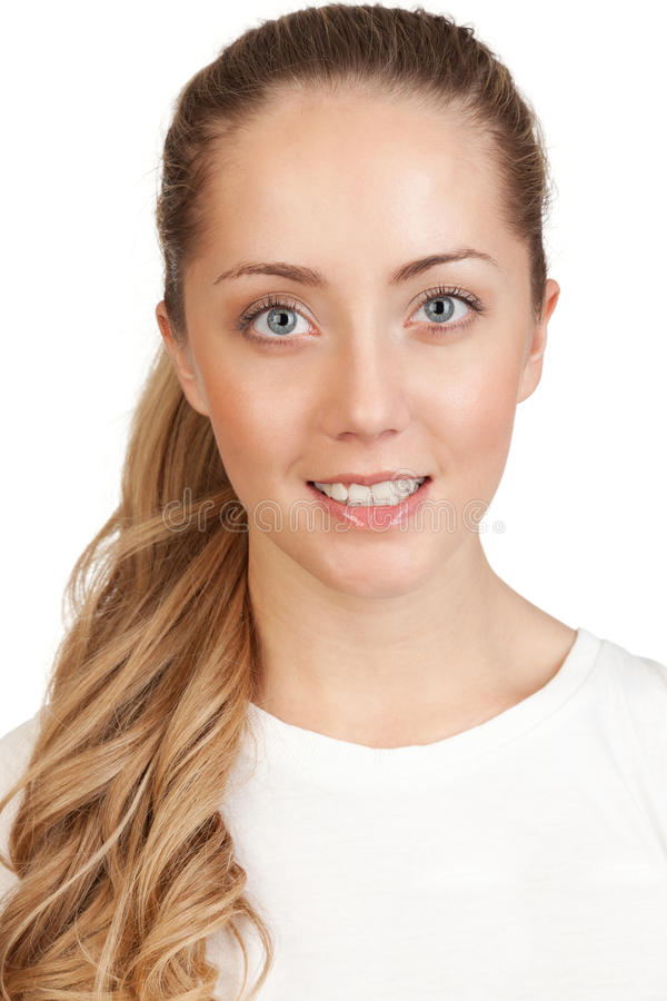 Download Portrait Of A Young Attractive Blonde Stock Image - Image: 29458595