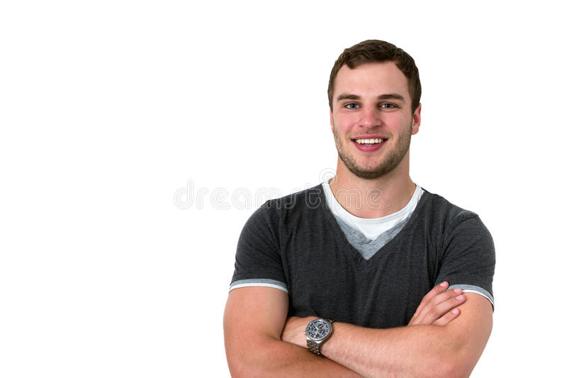 Download Portrait Of A Young Attractive Likeable Man Stock Photo - Image: 25232898