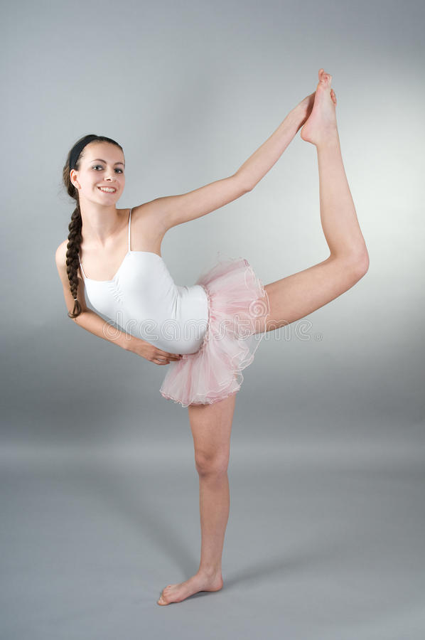 Download Portrait of young ballerin stock photo. Image of ballet - 10460822