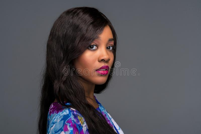 African American Young Woman stock photography