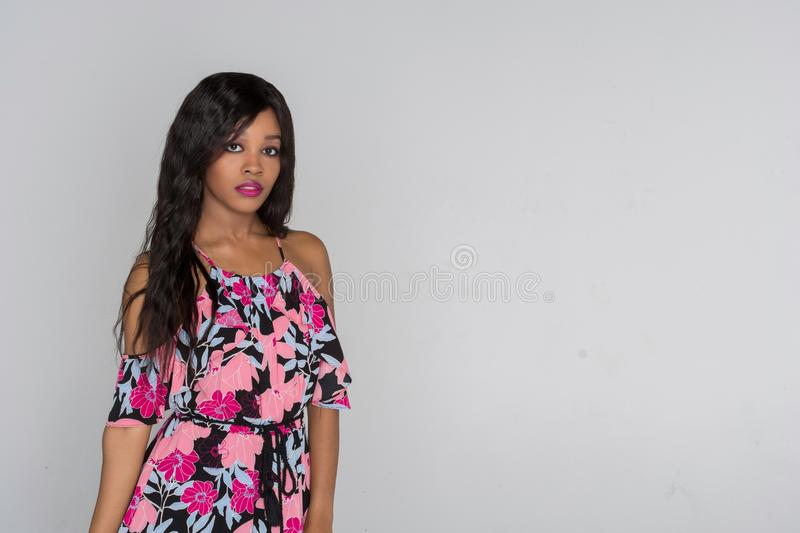 African American Young Woman royalty free stock images