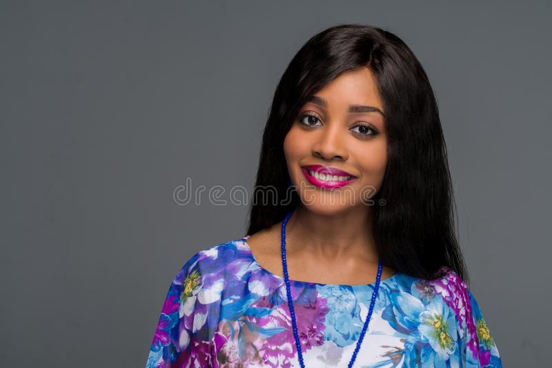 African American Young Woman stock photo