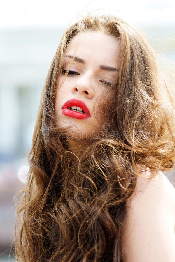 Download Portrait Of Young Beautiful Girl Stock Photo - Image: 27137116