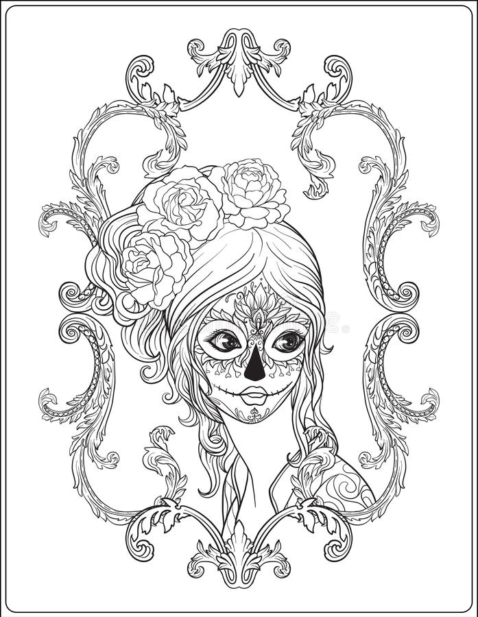 Day of the Dead Coloring Book by Thaneeya McArdle — Thaneeya.com | 900x697