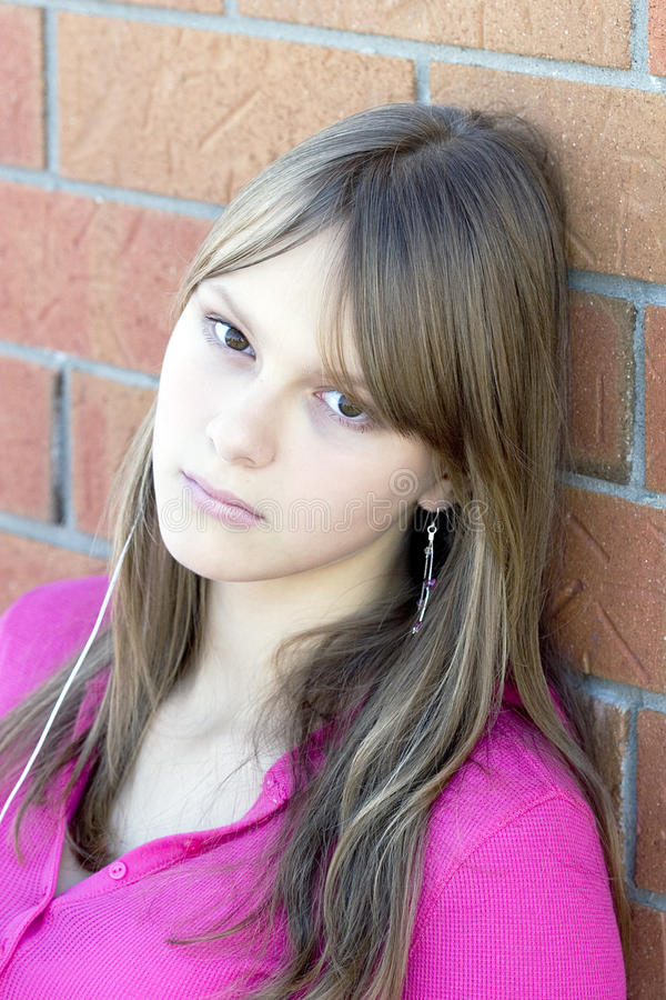 Download Portrait Of A Young Beautiful Teenager Girl Stock Photo - Image: 11752966