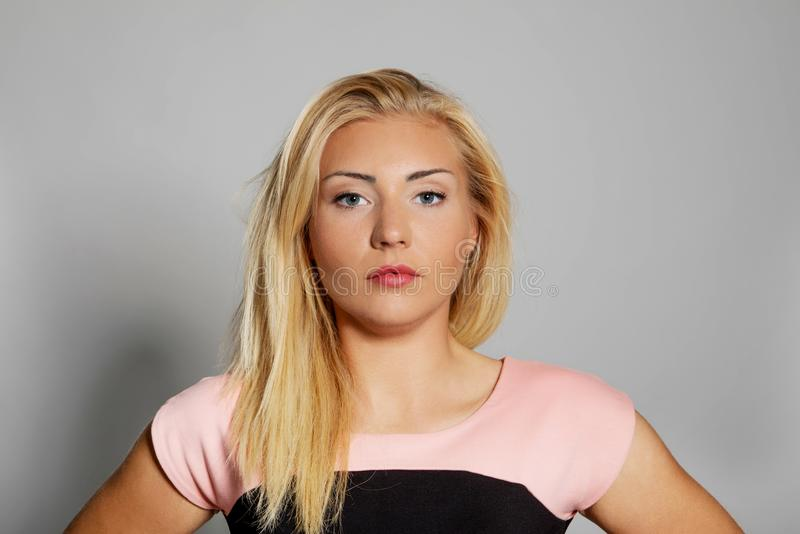 Young beautiful woman. royalty free stock photos