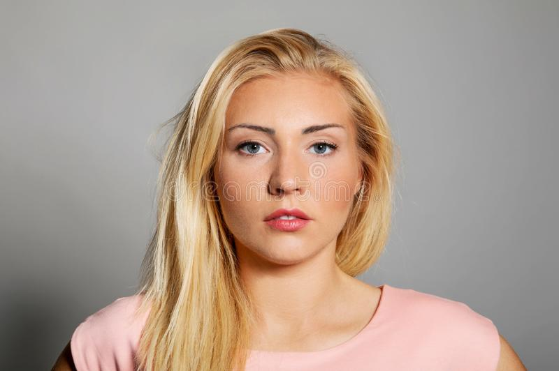 Young beautiful woman. royalty free stock image