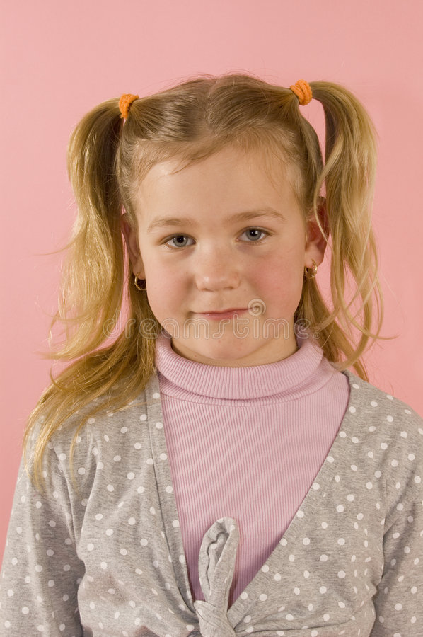 Download Portrait Of A Young Blond Girl Stock Photo - Image: 8567728